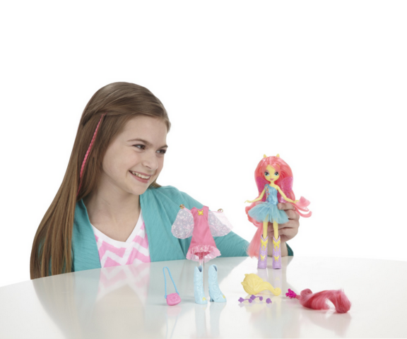 File:Fluttershy Equestria Girl Doll Photo.png