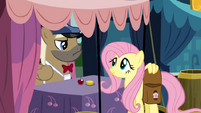 Fluttershy paying S02E19