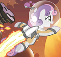 Friends Forever issue 2 Astronaut Sweetie Belle
