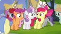 Cutie Mark Crusaders excited S4E15.png