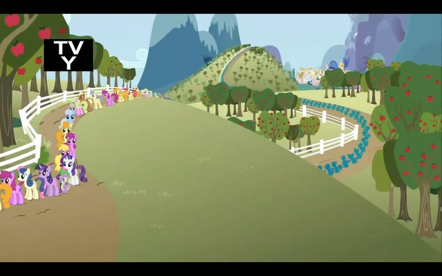 File:Line of ponies for the cider S2E15.png