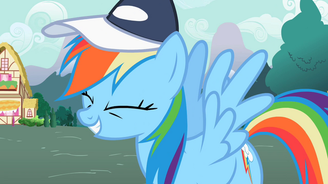 "File:Rainbow Dash ""That is awesome"" S2E07.png"
