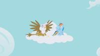 Rainbow Dash and Gilda Shock S1E5