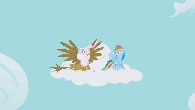 File:Rainbow Dash and Gilda Shock S1E5.png