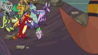 """Spike """"I am a dragon, after all"""" S6E5"""