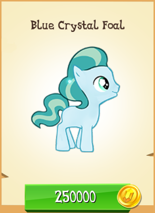 File:Blue Crystal Foal MLP Gameloft.png