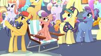 Crystal Ponies watching the 'fireworks' S6E2