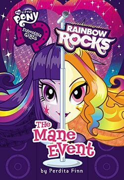 Equestria Girls Rainbow Rocks The Mane Event cover.jpg