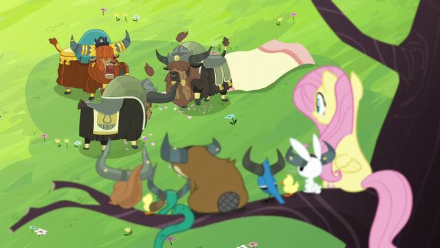File:Fluttershy sees yaks smashing stuff S5E11.png