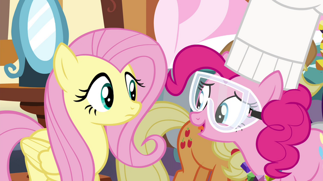 """File:Pinkie Pie """"Can't tell ya that, silly!"""" S4E18.png"""