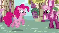 Pinkie Pie happy birthday Cheerilee S2E18