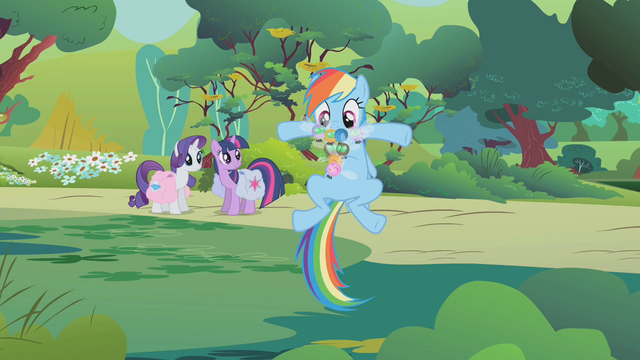 File:Rainbow with a Parasprite beard S01E10.png