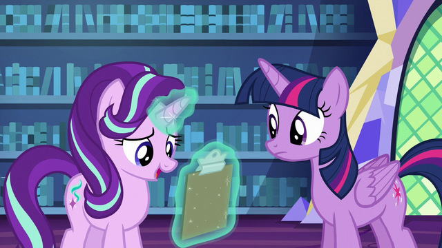 """File:Starlight """"a couple in there somewhere"""" S6E21.png"""
