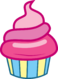 FANMADE Pink Iced Cupcake