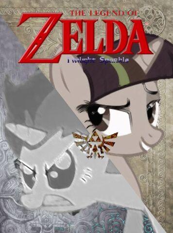 File:FANMADE Twilight Sparkle Zelda.jpg