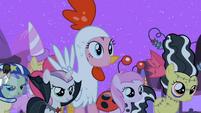Pinkie Pie asking where Pipsqueak is S2E04