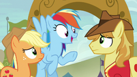 "Rainbow ""we bucked the hooves right off of you!"" S6E18"