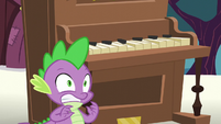 Spike's oh no face S5E11