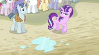 Starlight angry with Fluttershy S5E2