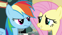 Fluttershy embarrassed S4E22