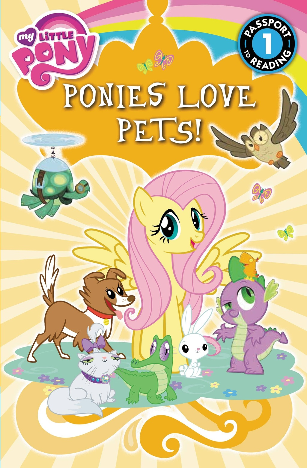image - my little pony ponies love pets! storybook cover | my