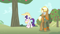 Rarity looks at apple tree S4E13.png