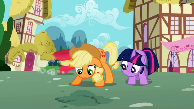 File:Twilight and Applejack wait for seeds to sprout S02E06.png