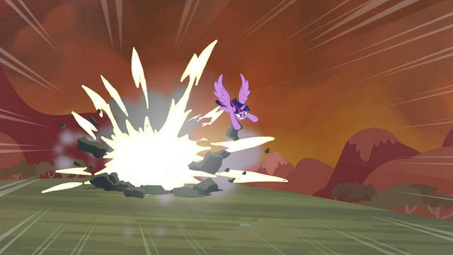 File:Twilight destroys a rock S4E26.png