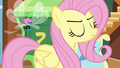 Fluttershy being firm with the Breezies S4E16.png