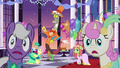 Gala ponies hear something outside S5E7.png