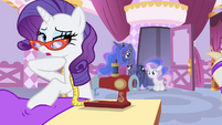 "Rarity ""or wait until I'm there"" S4E19"