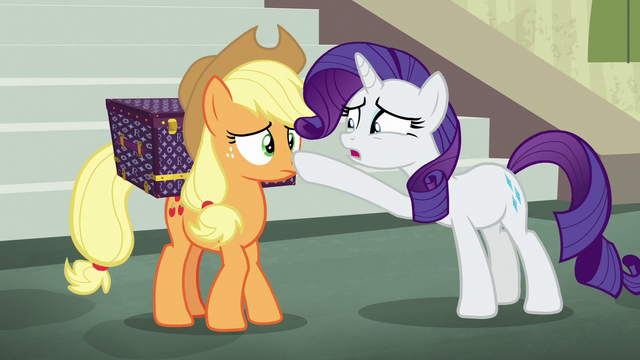 File:Rarity asking if Applejack is alright S5E16.png