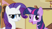 Rarity piecing together S2E23