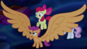 Scootaloo giant wings ID S5E13