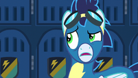 Soarin disturbed and confused S6E7