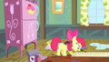 Apple Bloom reads the checklist S4E17.png