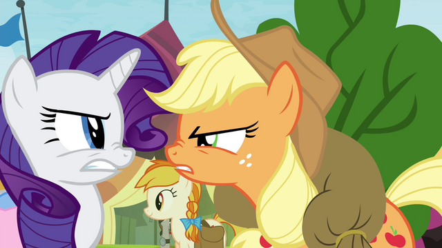 "File:Applejack ""it's five seconds faster!"" S4E22.png"