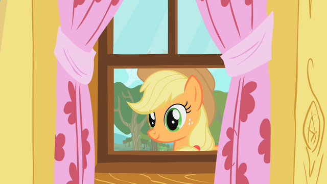 File:Applejack staring through window S01E18.png