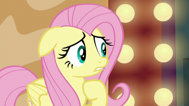 """File:Fluttershy """"make each trainer think the other is doing it"""" S6E20.png"""