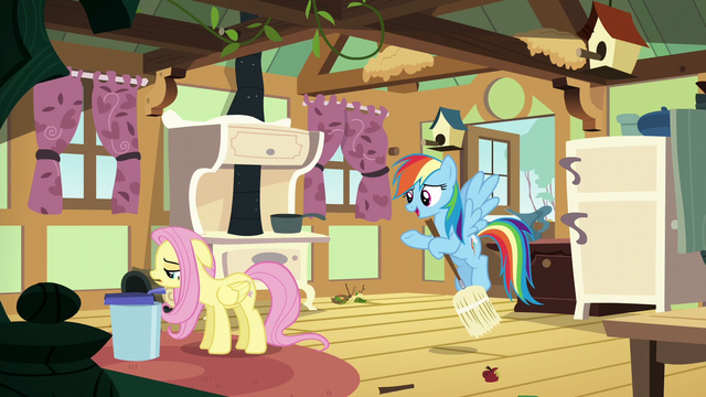"File:Rainbow Dash ""cheer up, Fluttershy"" S6E11.png"