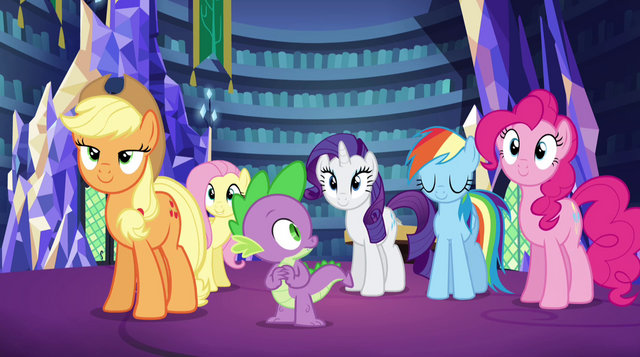 File:Twilight's friends nod in agreement EG2.png
