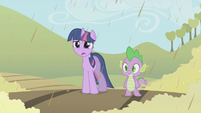 Twilight Sparkle shocked S2E01