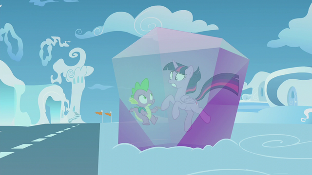 File:Twilight and Spike stuck in crystal S5E25.png