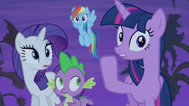 File:Twilight whispering to her friends S4E07.png