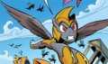 FIENDship is Magic issue 5 Chrysalis guard disguise.png