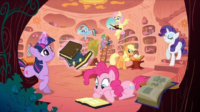 File:My Little Pony reading.jpg