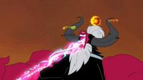 Tirek consuming the alicorn magic S4E26