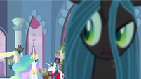 Queen Chrysalis huh S2E26