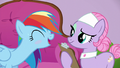 Rainbow Dash blushing and sweating S6E10.png