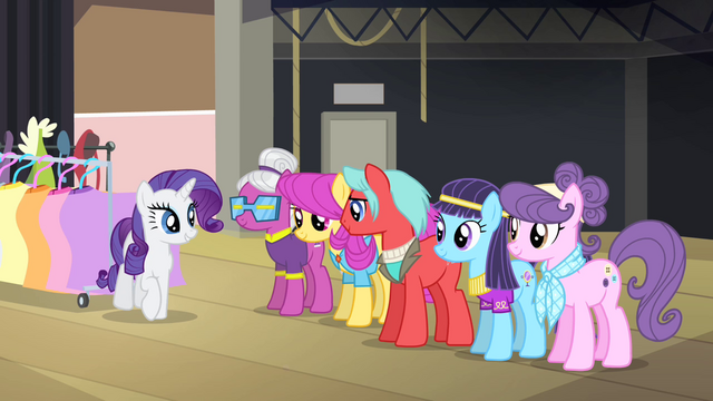 File:Rarity greeting other ponies S4E08.png
